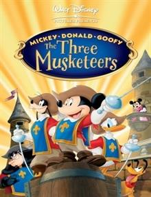 Mickey, Donald ve Goofy: Üç Silahşörler