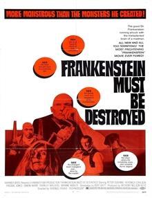 Frankenstein Yok Edilmeli